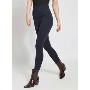 LYSSE Flattering Cotton Legging in Midnight Blue